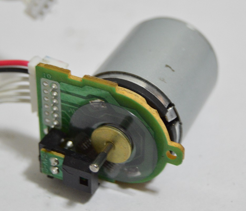 Brushed dc servo drive for Encoder for motor control