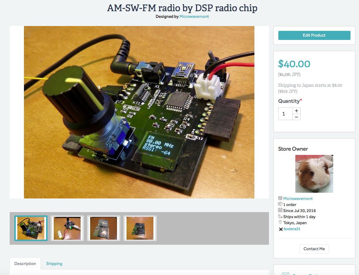 Radio, yes AM-SW-FM radio by DSP radio chip | Hackaday io