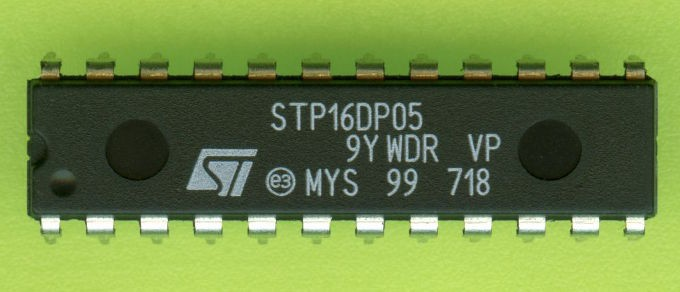 STP16DP05B1R 16-BIT CONSTANT CURRENT SINK LED DRIVER