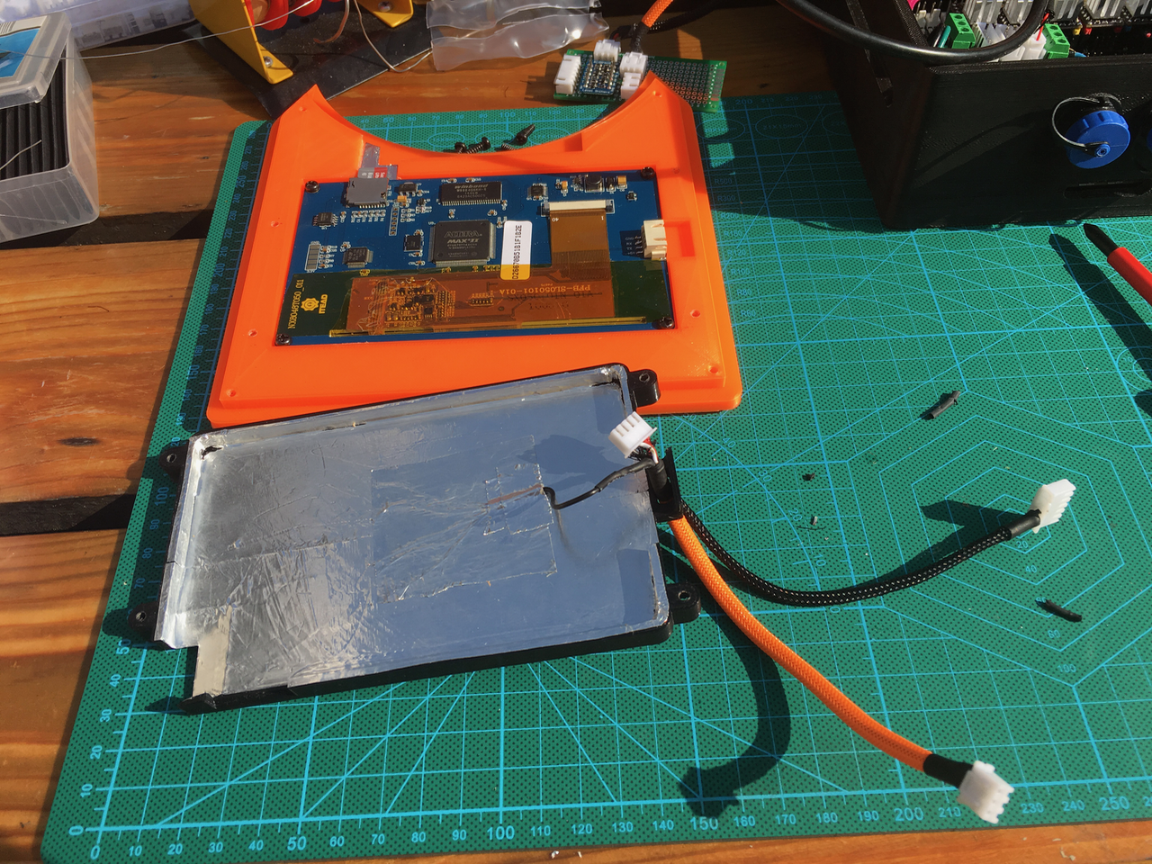 Day 10: Wiring the base and art 1 | Details | Hackaday io