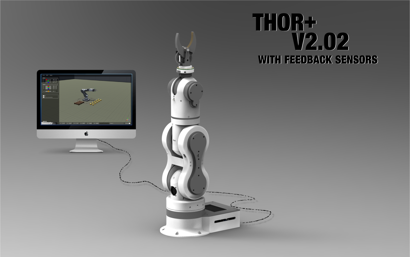 Thor' robot with addons and GUI | Hackaday io
