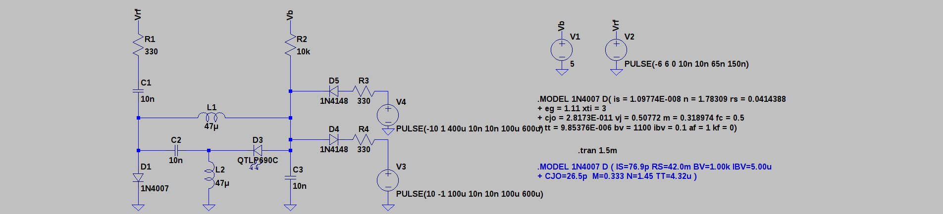 Use Of Diodes In A Circuit
