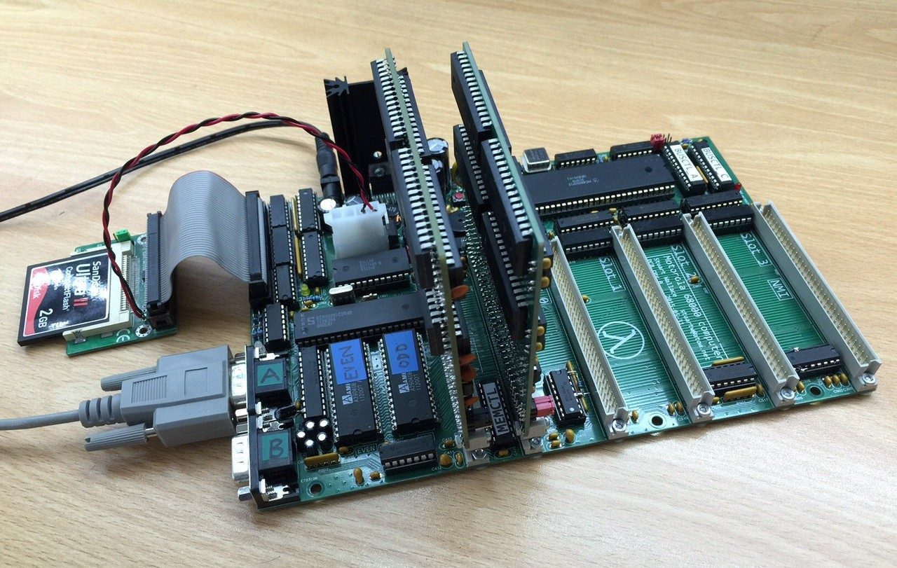 Motorola 68000 Computer Motherboard Diagrams A Deeper Understanding Of The Parts Board Requires Regulated 12v Input It Generates 5v Logic Supply Using An Lm2678 Package Mounted To Large Heatsink At Rear