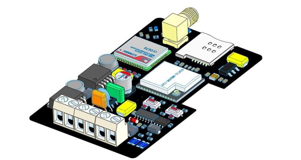Gallery | Modbus RTU (RS485) with Esp32, GPRS (sim800C