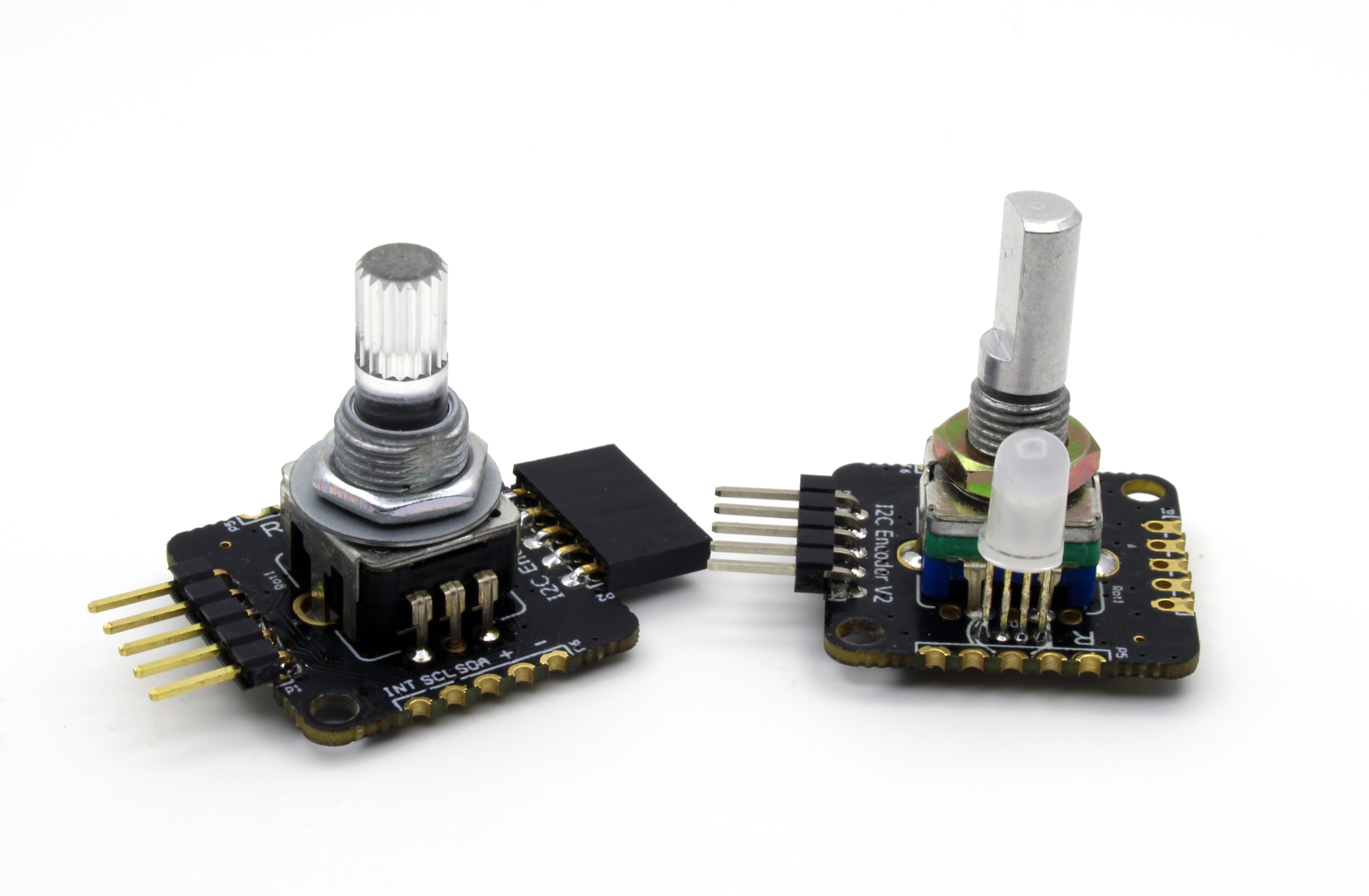 I2c Encoder V2 Tri Color Led Circuit With There Are Also 3 Configurable Gpios Organized The Same Footprint Of A Rgb They Called Gp1 Gp2 And Gp3