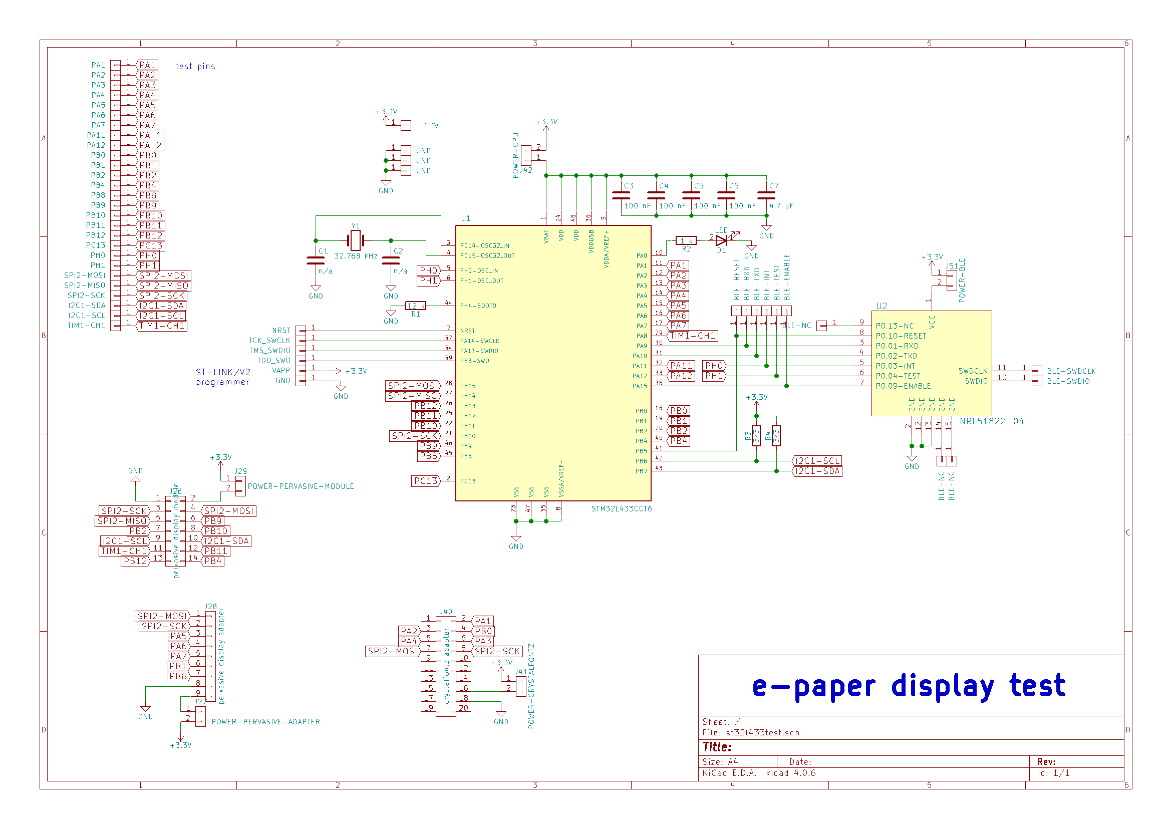 Project Wifi Epaper Of The Test Boards Used To Createthe Crystaloscillator Circuit Server Hardware Is Required But Optionally Possible With Or Ethernet Connection Everything Displays I Created A Board