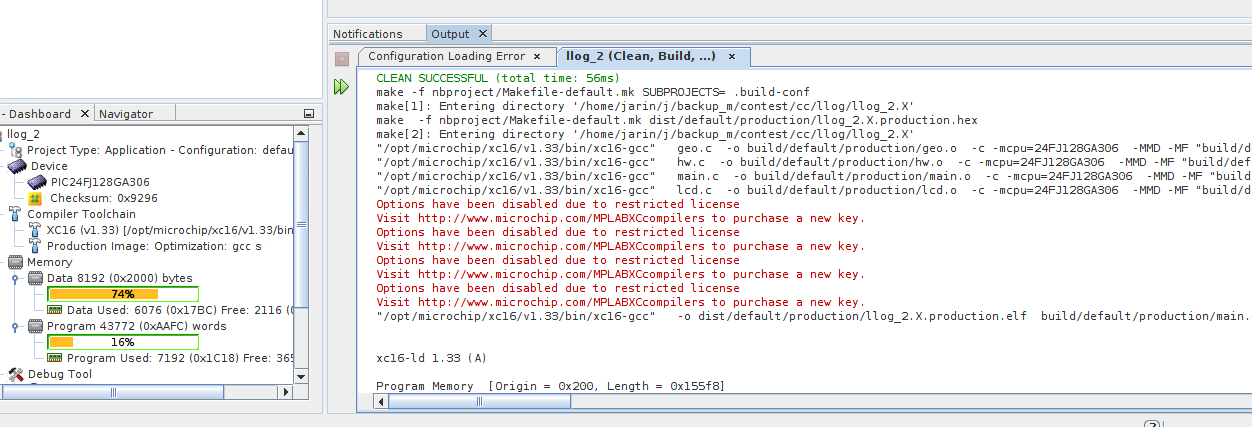 Exploring Microchip XC16 compiler   Details   Hackaday io