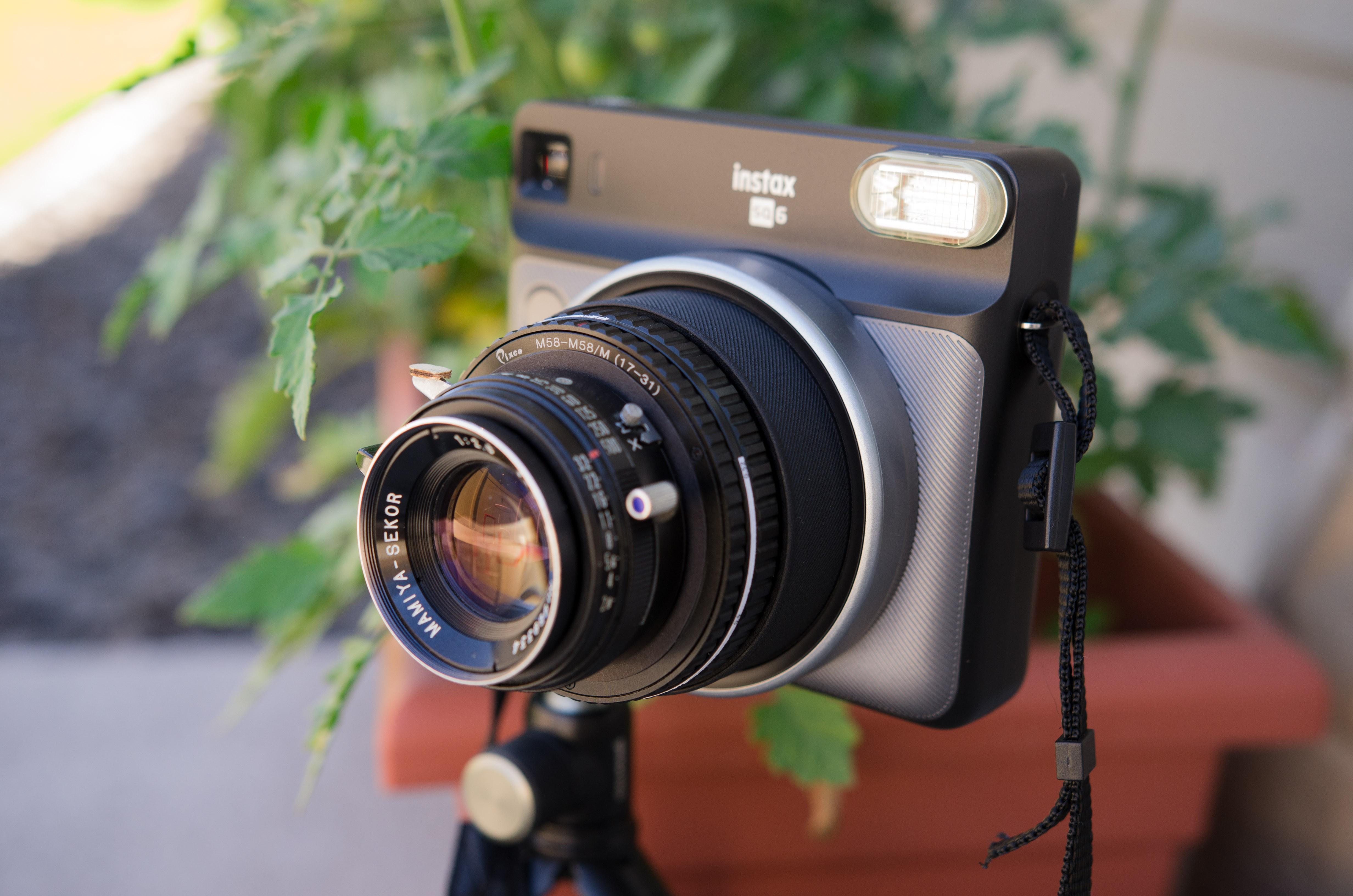 Instax SQ6 Lens Transplant | Hackaday io