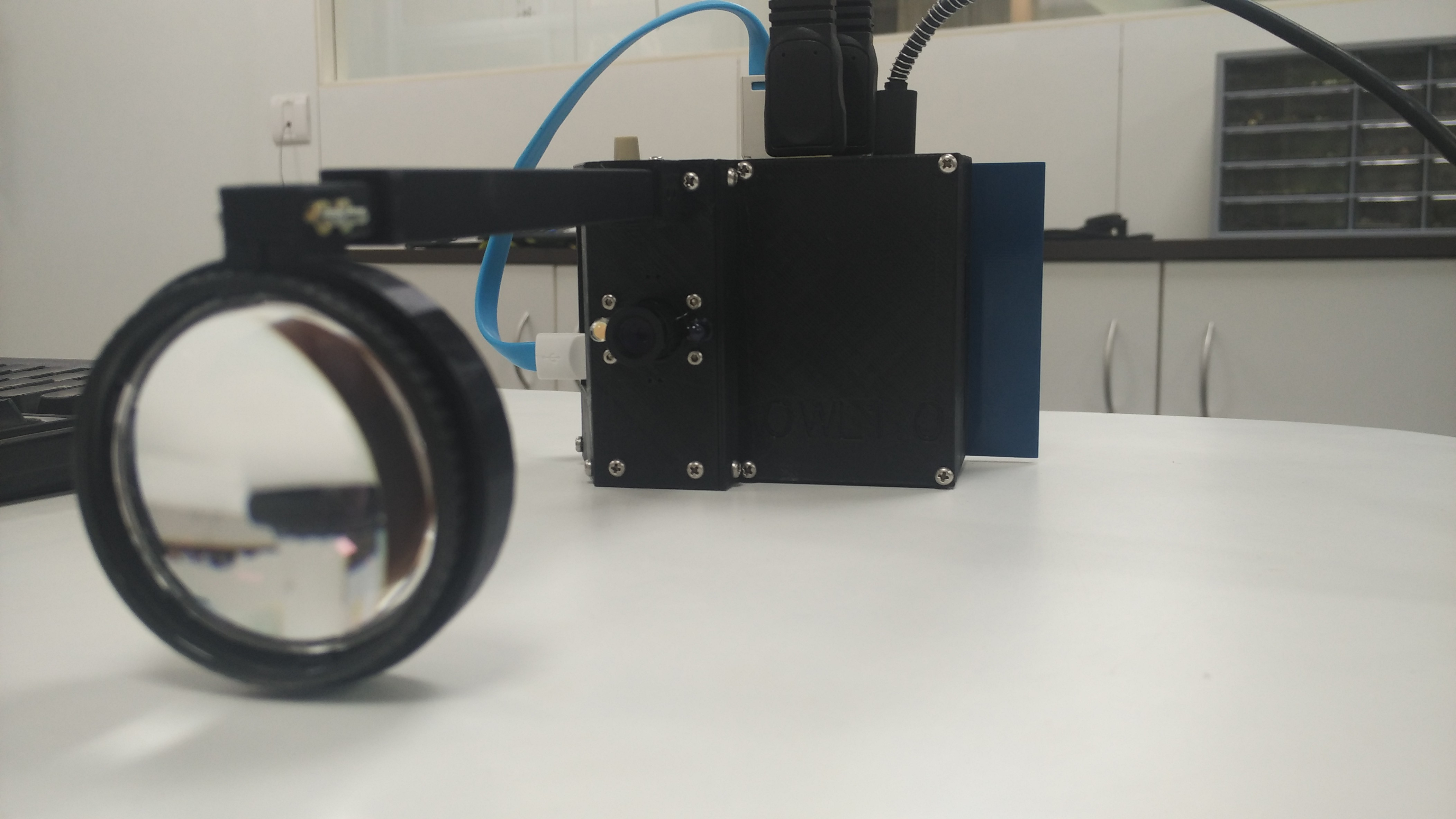 Starting out: Mimicking an indirect ophthalmoscope | Details