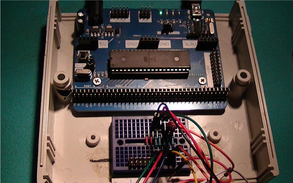 TCD1304DG driver circuit using an ATMega1284P MCU | AVR Freaks