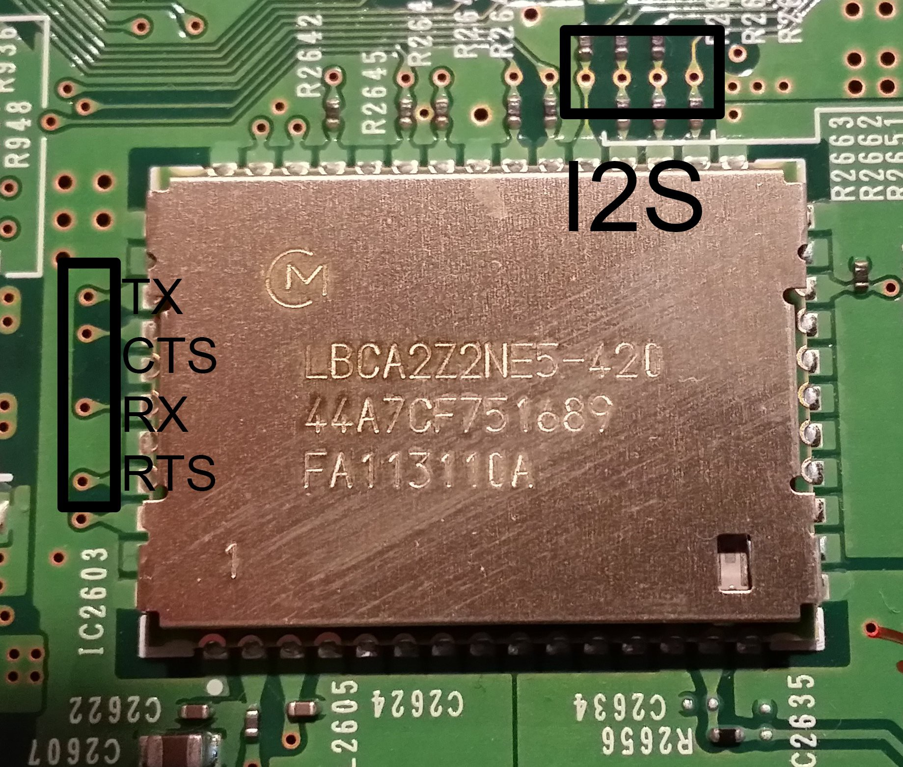 Rn 52 Module Not Going To Be Used Details Wolfson Pi Audio Card Circuit Board For Raspberry Cancel Reply Its Worth Noting That This Does Have A Built In Antenna As The There Is Ufl Connector Nearby Mounted