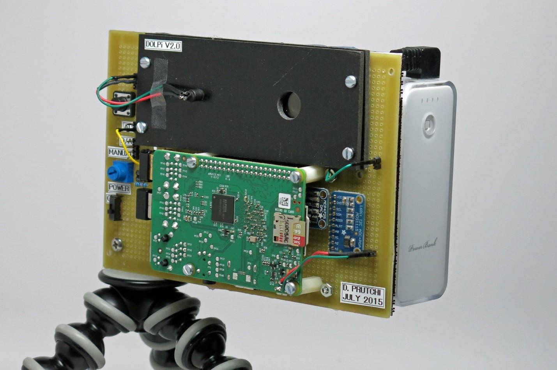 DOLPi - RasPi Polarization Camera | Details | Hackaday.io