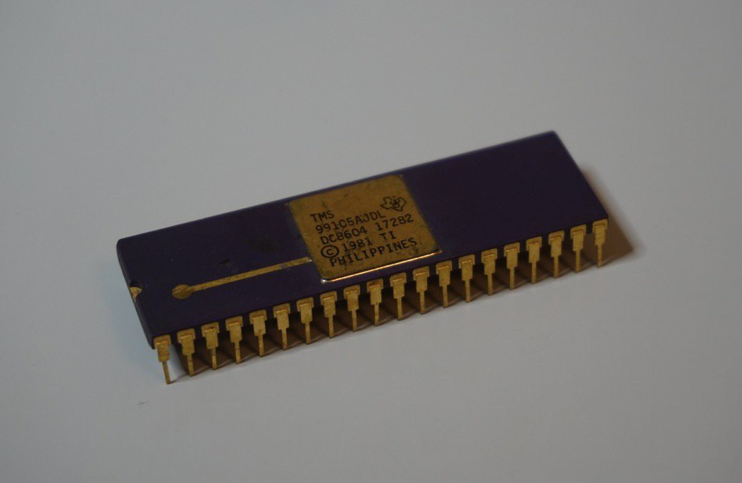 TI-99/4a clone using TMS99105 CPU