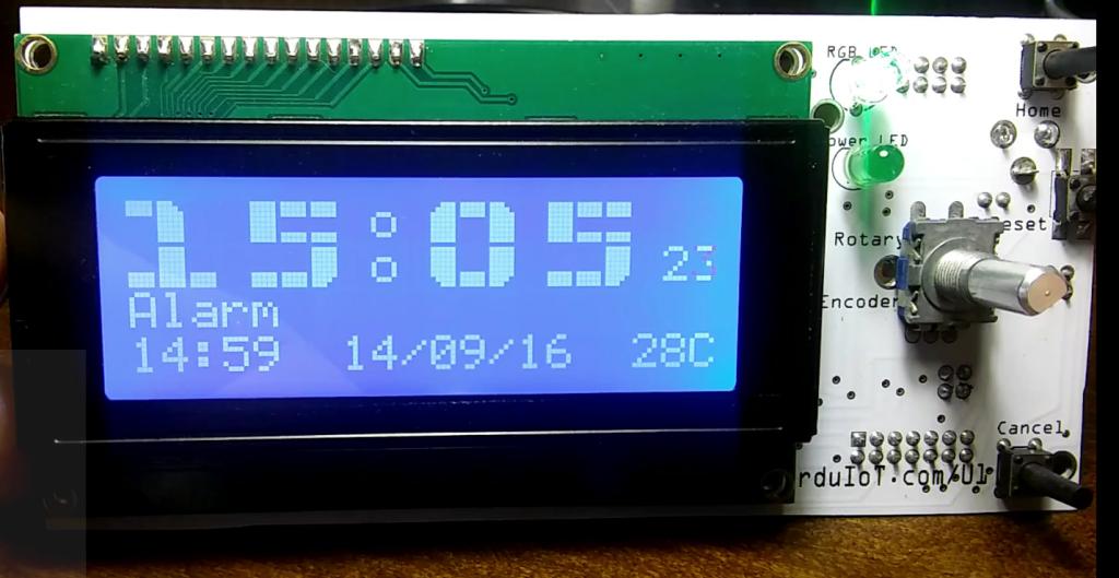 Gallery | Alarm Clock InvIoT U1 (arduino compatible
