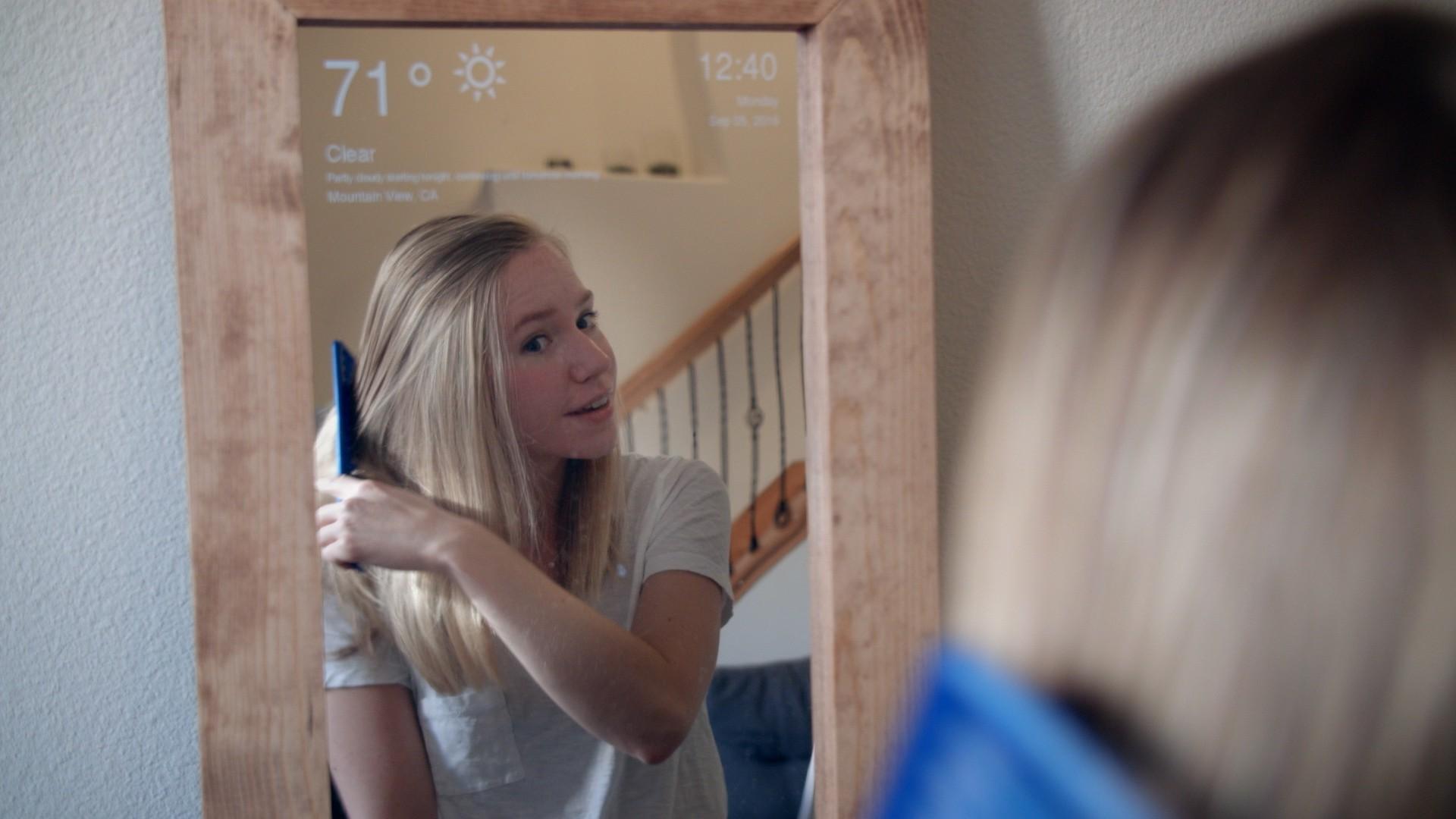 Raspberry Pi Smart Mirror   Hackaday io