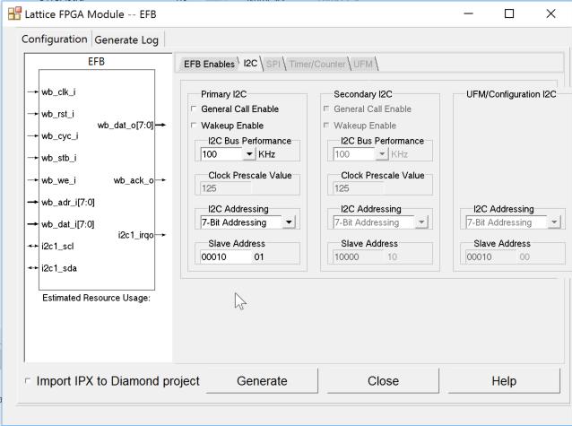 How to enjoy I2C by EFB inside Lattice FPGA? | Details