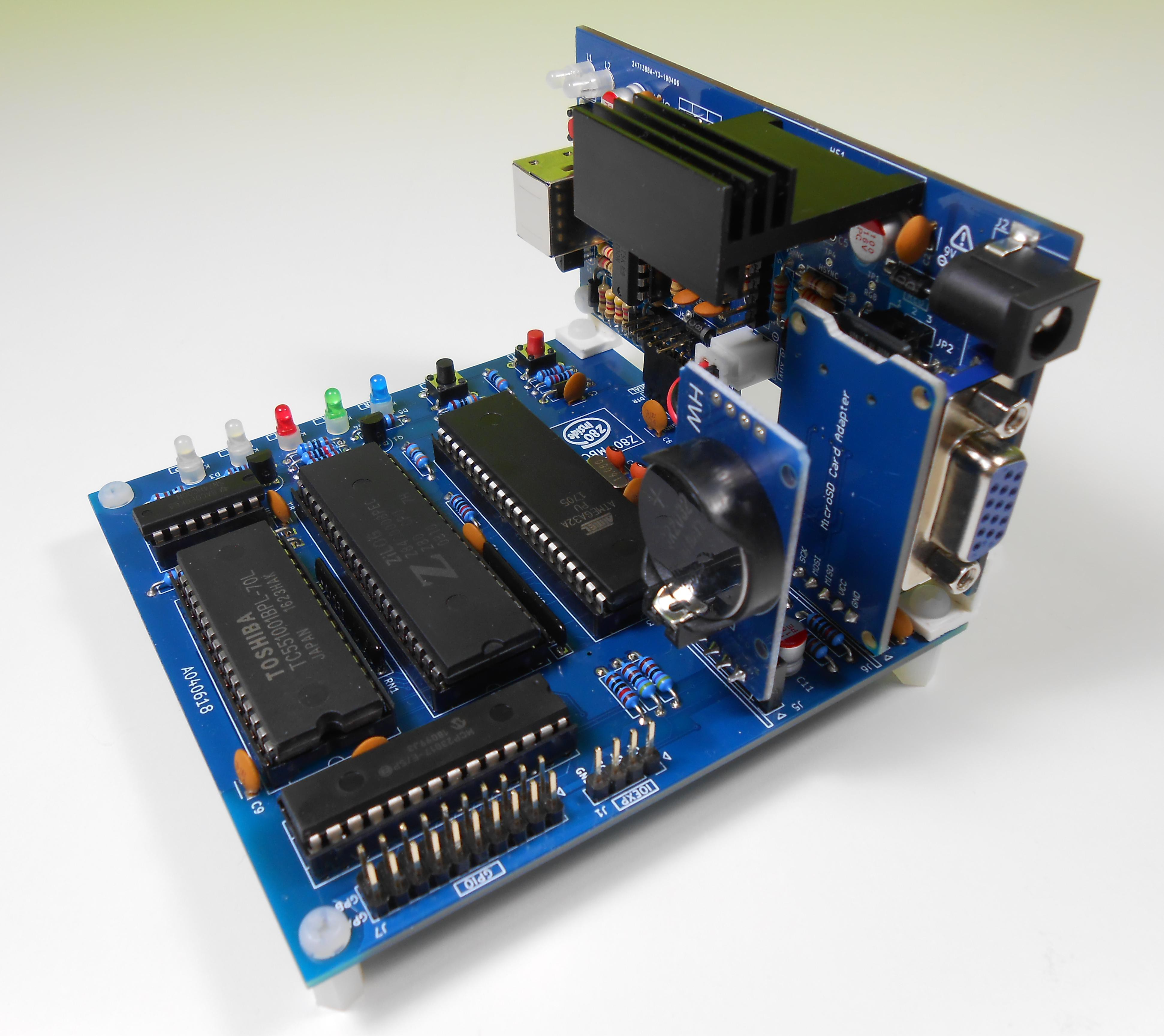 Z80-MBC2: 4ICs homemade Z80 computer   Hackaday io