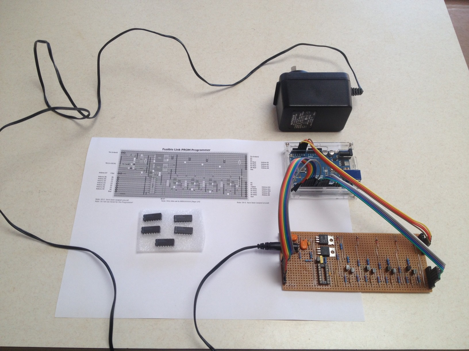 Project Promer Voltage Regulator With Lt1086 Electronic Circuit Firing Up An Old Prom Programmer