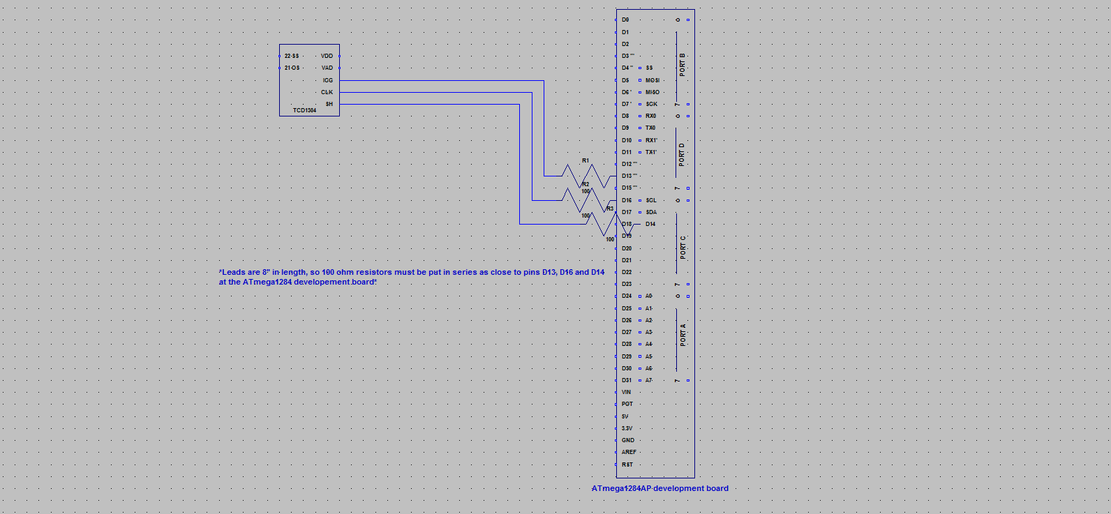 final schematic  ccd driver circuit  tcd1304ap rev c