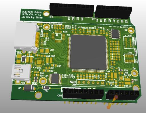 Project | MIPI DSI Display Shield/HDMI Adapter | Hackaday io