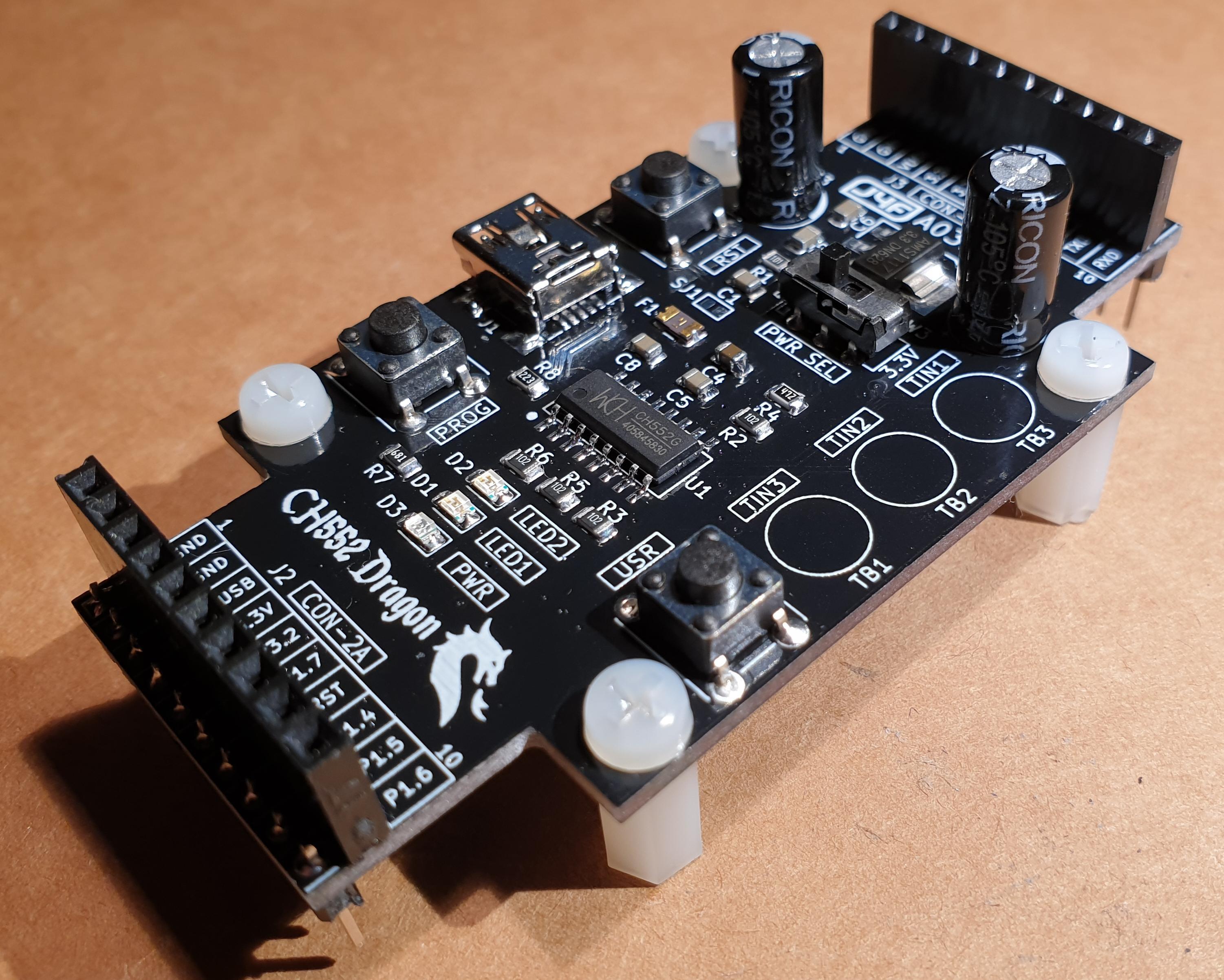 ricon circuit board wiring diagram ch552 dragon share project pcbway  ch552 dragon share project pcbway