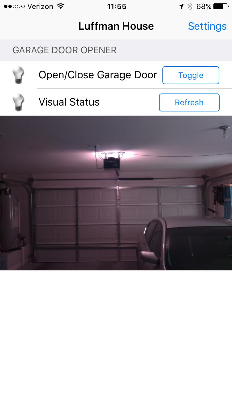 Home Automation Garage Door Garage Doors Home Automation