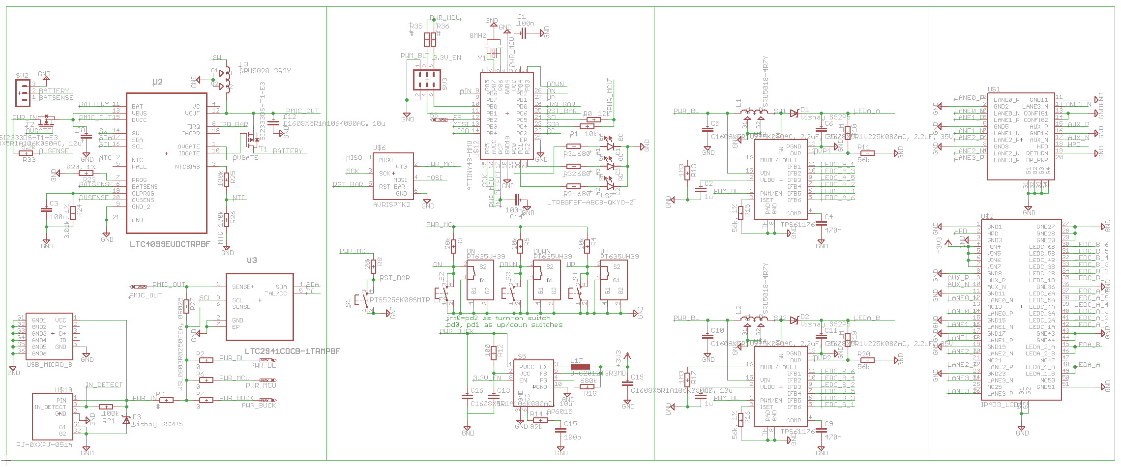 Project Megapixy A 13 Retina Class Screen On Boom Arm Displayport Schematic Ipad Interface Board Attempt 2