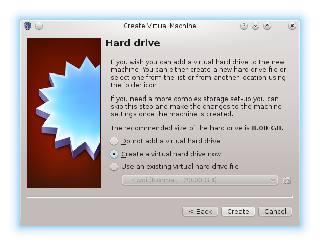 Using VirtualBox to install OS for an embedded system