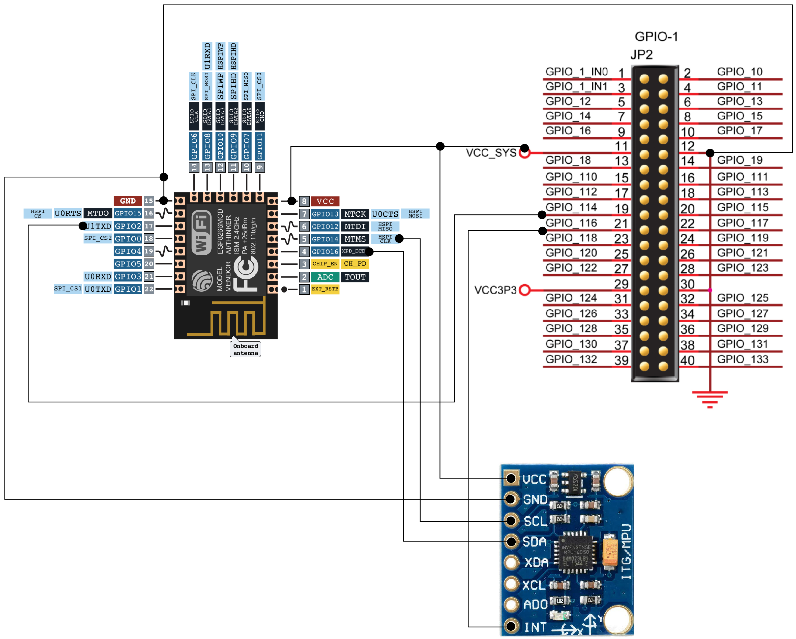 Tremendous Mpu6050 Wiring Diagram Basic Electronics Wiring Diagram Wiring 101 Photwellnesstrialsorg