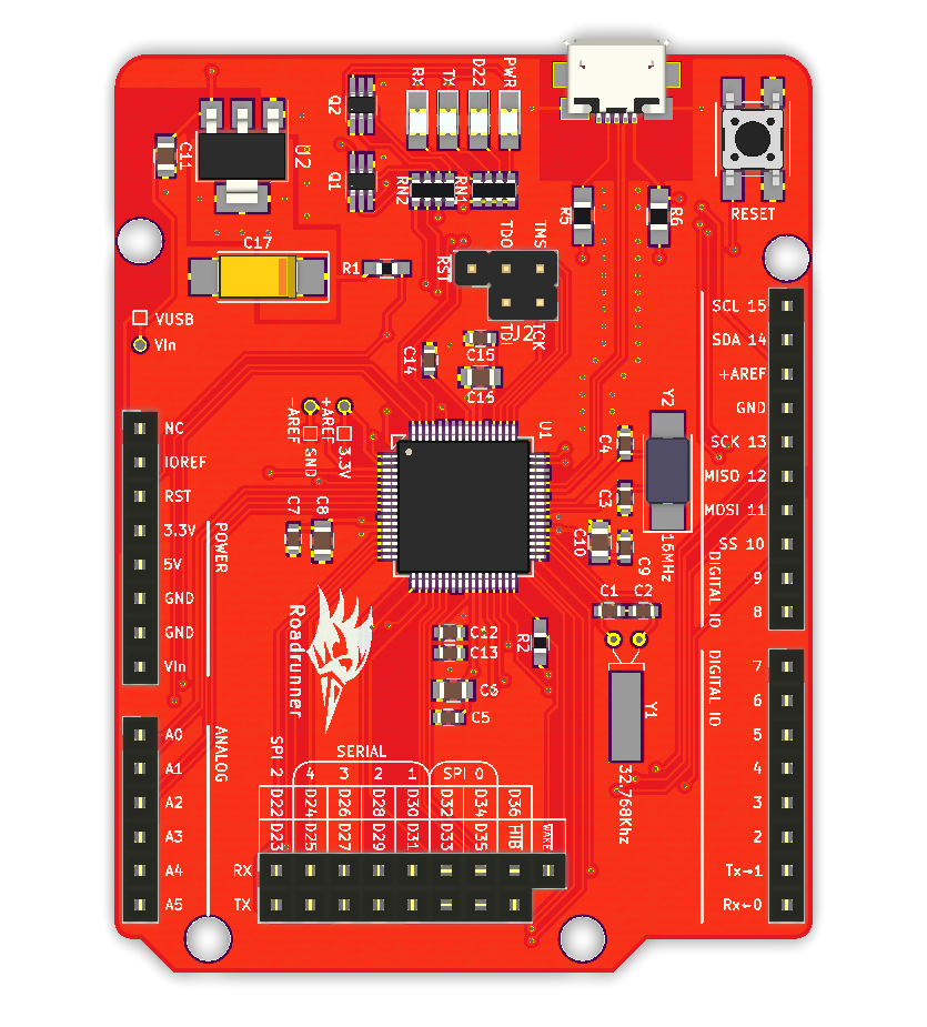 Roadrunner (the Arduino-Tiva) | Hackaday io