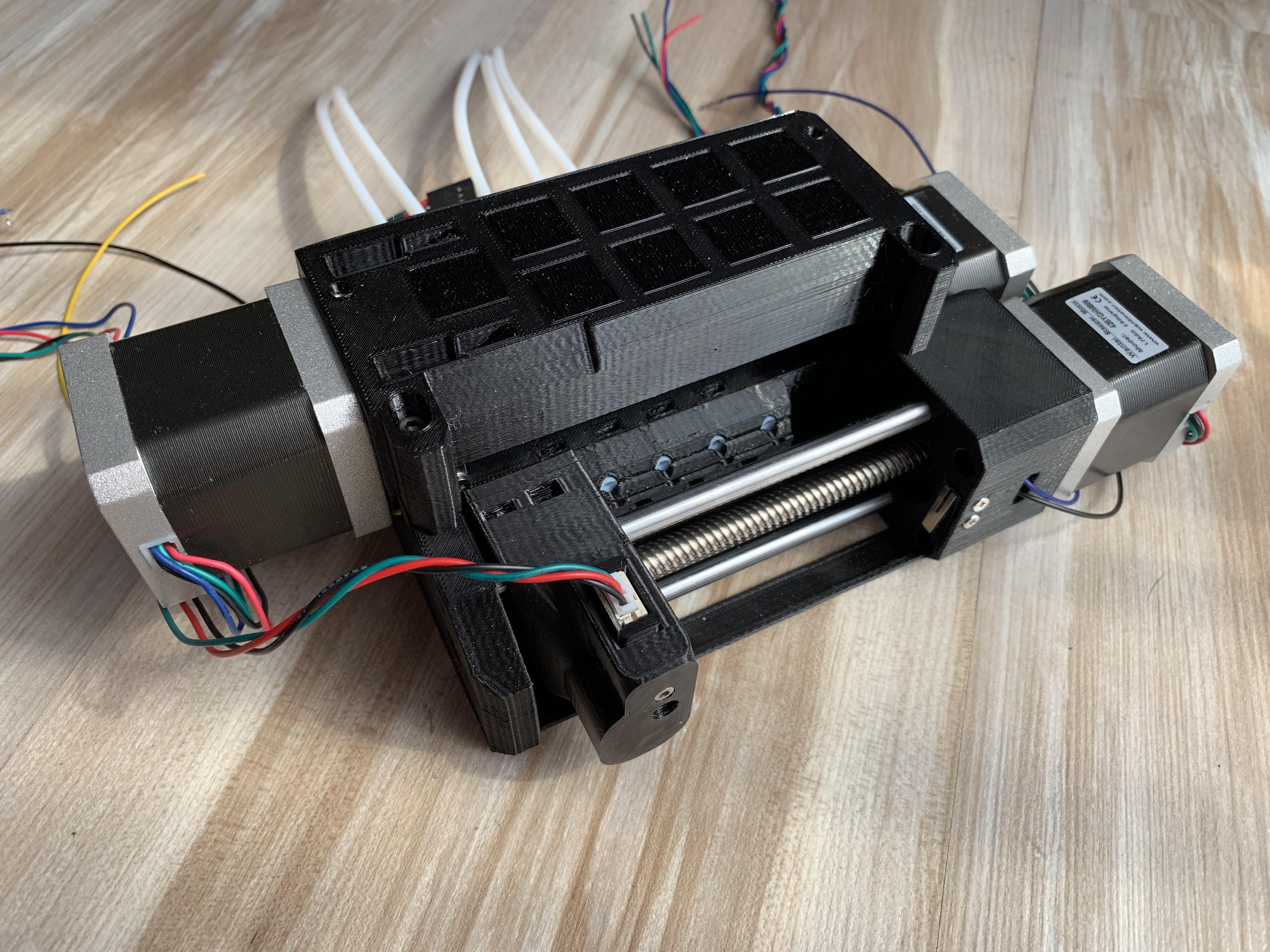 protoDEV 3d printer | Hackaday io