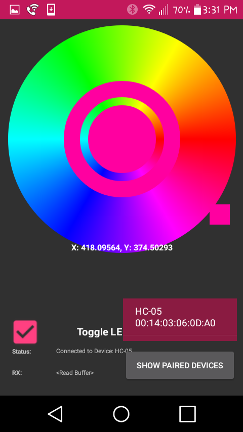 Android App - Bluetooth RGB Controller | Hackaday io