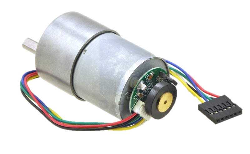 Pololu DC motor with Encoder