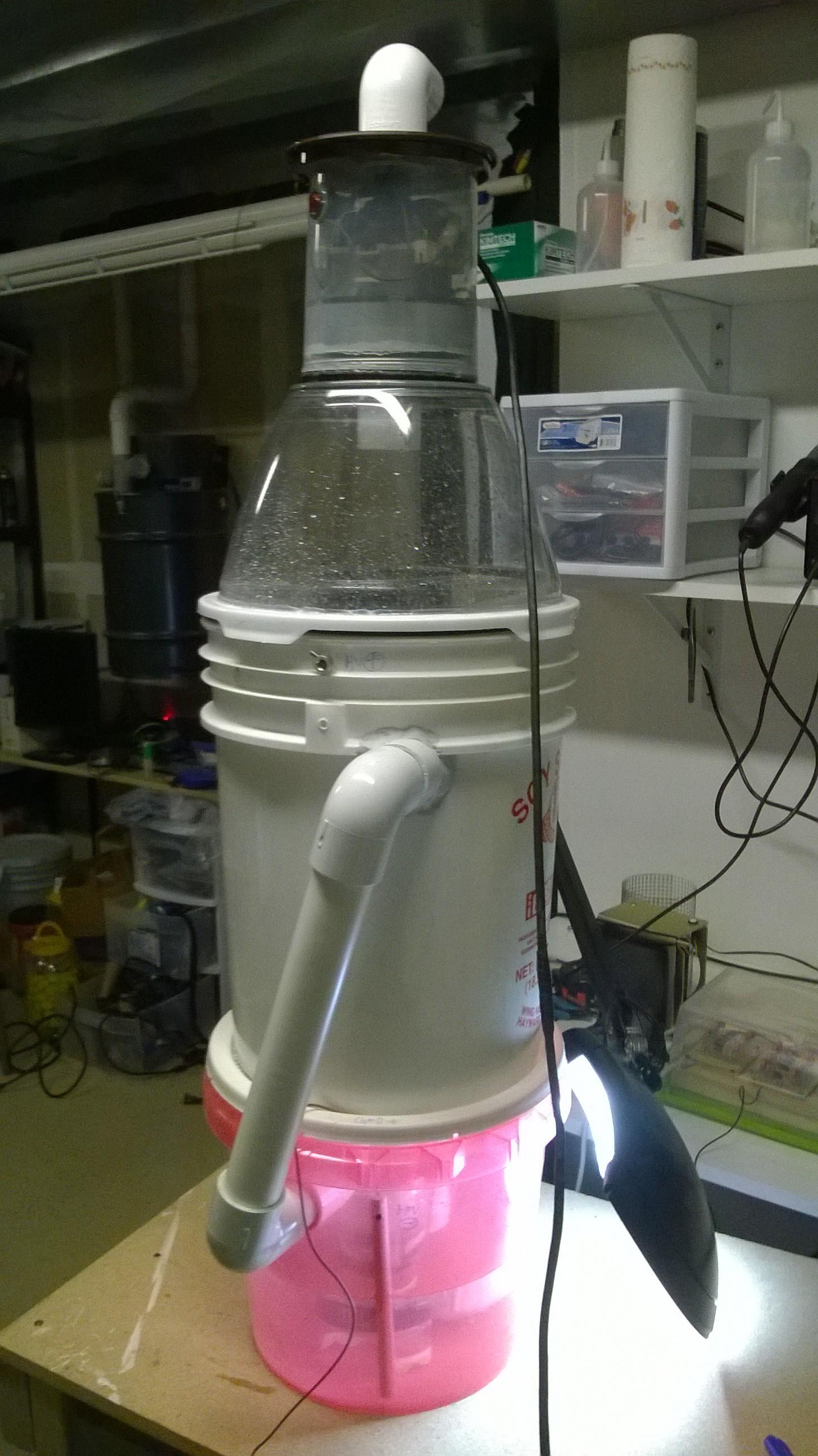 Household Electrically Enhanced Wet Scrubber   Hackaday io