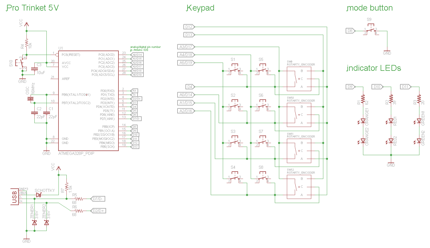 Schematic and code | Details | aday.io on