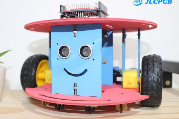 Mobile Robot with 2 Wheels