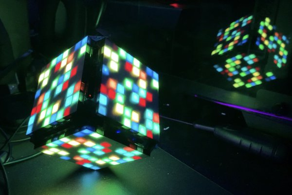 8x8 WS2812 LED Cube
