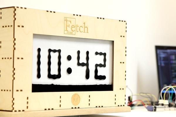 Fetch: A Ferrofluid Display