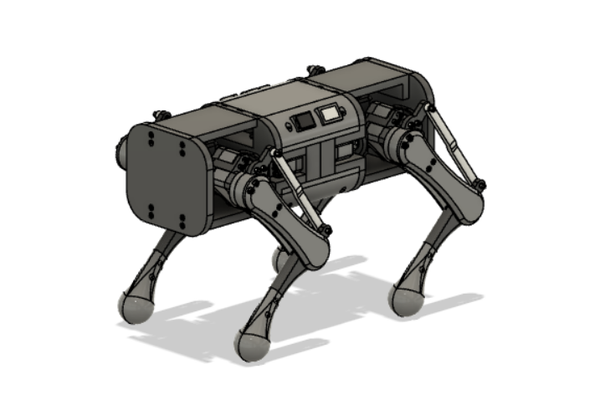 ZUES Quadrupedal Robot