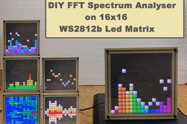 DIY simple FFT Spectrum Analyzer