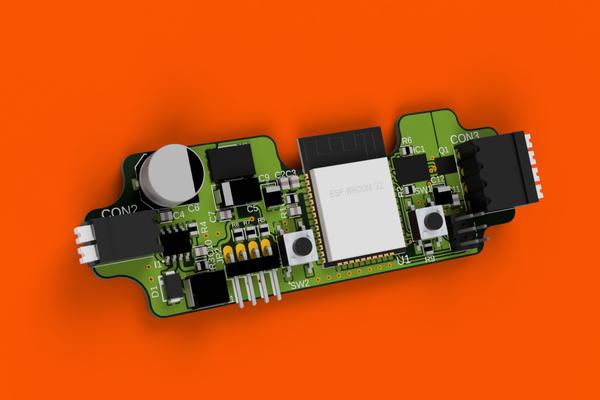 Volumetric: Wi-Fi LED strip controller
