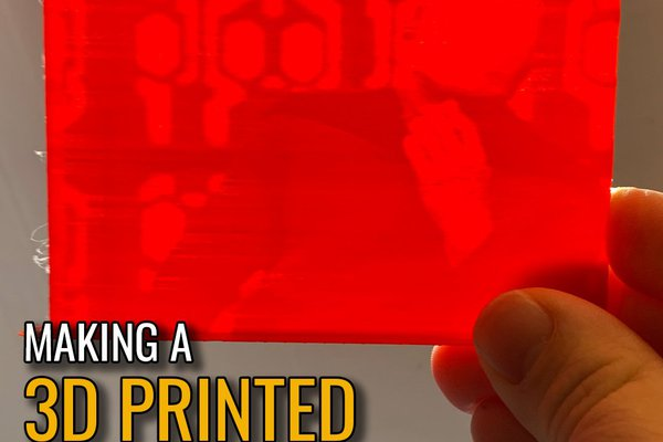 3D Printed Lithophane Animated GIFs