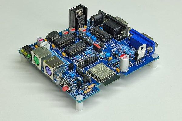 uTerm2-S: a multi-emulation color RS232 terminal