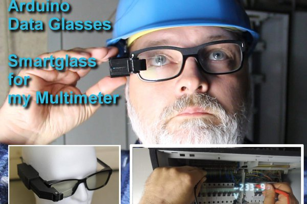 Arduino Glasses a HMD for Multimeter