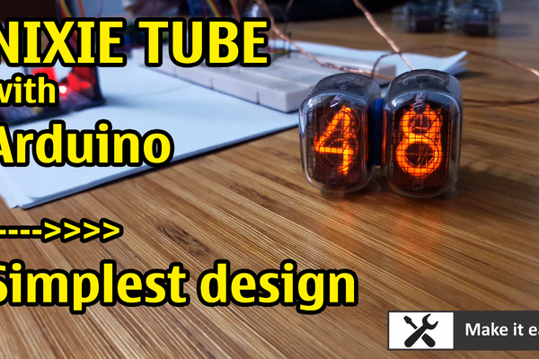 Nixie clock by Arduino (part 2)
