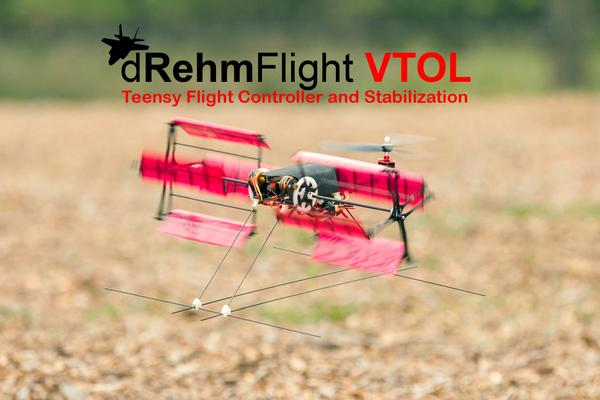 dRehmFlight VTOL