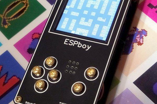 ESPboy - the ultimate multi-gadget