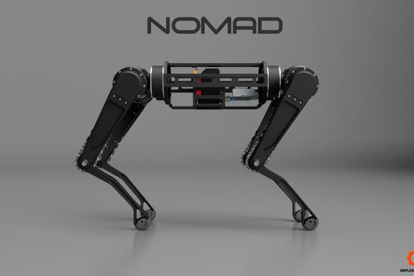 NOMAD Quadrupedal Robot