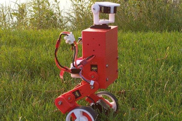 MABEL - A Boston Dynamics inspired balancing robot