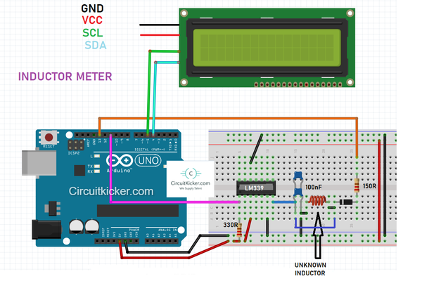How to make inductor meter Using Arduino